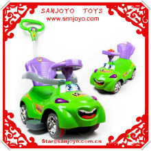 Fábrica directamente vender niños de plástico Coche eléctrico 4 ruedas niños coches para niños HT-5512