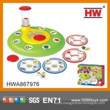 Interesting Food against rotation game educational card game