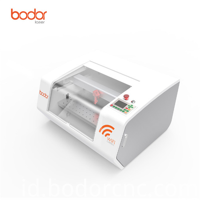Accurate to position laser engraving machine