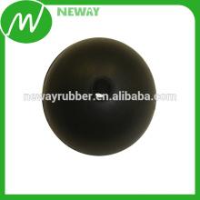 Bola de borracha de venda quente de 3 mm com furo
