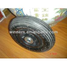 200 x 50mm pneumatic rubber wheel