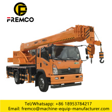 Mobile Hydraulic Lattice Boom Jib Crane Trucks