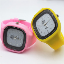 pure color  electronic silicone watches(hanyonghao)