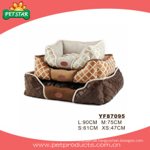 Luxury Pet Bed, Warm Dog Beds (YF87095)