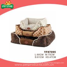 Cama de estimação de luxo, camas cão quente (YF87095)