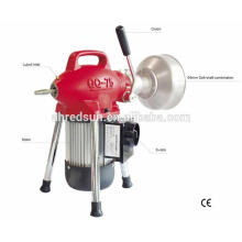 commercial metal drain cleaner wash manchine