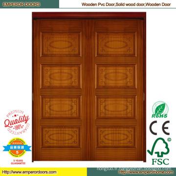 Porte en bois porte en bois composite plus bas porte en bois peinture