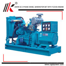 De china 200kw / 250KVA Para que el generador diesel con YC6M350L-D20 generador de motor precio dinamo