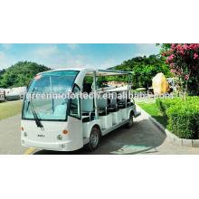 Elektrischer Besichtigungsautobus mit 14 Sitzern neuer Entwurf