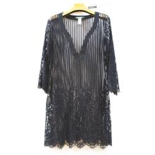 Vestido de los Coverups de la playa de la gasa de las mujeres atractivas de la venta al por mayor caliente de la venta