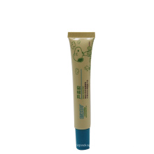 15ml bébé lotion aloe vera gel chocolat tube d'emballage longue buse