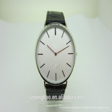 Top quality stainless steel japanese quartz low mop watch with man