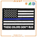 These Colors Don't Run USA Flag embroidery patch