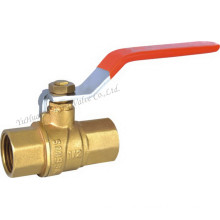 "Brass Ball Valve with Steel Handle1/2"" (YD-1025)"