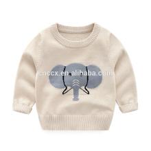 Camisola de caxemira de algodão infantil P18B15TR