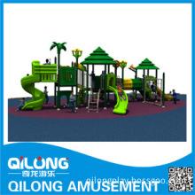 Happy Child Outdoor Amusement Park Equipment with Slides (QL14-064A)