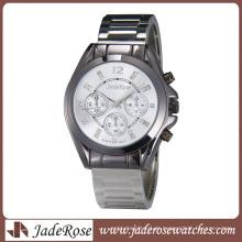 Alta qualidade e inteligente quartzo liga pulseira de relógio