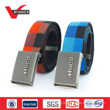 2015 Wholesale custom fashion canvas belts