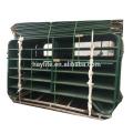 Chaud galvanisé à bas prix 5 rails ferme porte de bétail
