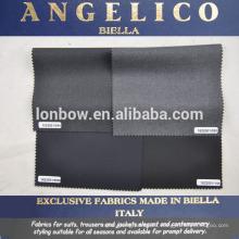 tela de traje de alta calidad hecha en Biella Italia