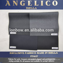top quality suit fabric made in Biella Italy