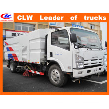 4 Brush Street Sweeper Truck in Isuzu Vacuum Road Sweeper