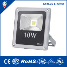 IP66 CE COB 10W Daylight Pure White LED Flood Light