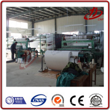 Gravity pneumatic fluidizing convey solid woven Airslide fabric