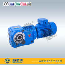 Right Angle Helical Bevel K187 Solid Input Shaft for Mobile Crusher