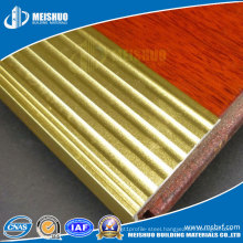 Hotel Outdoor Safety Construction Metal Stair Nosing Laminate Flooring