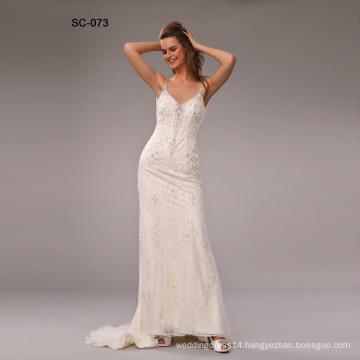 Latest Design Gorgeous Lace wedding dresses turkey