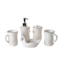 new design modern style ceramic bathroom accessories set luxury