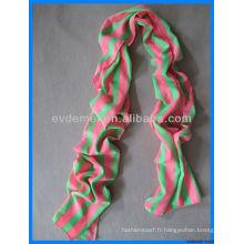 Décoration écharpe en mousseline de soie