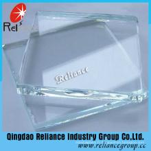 Verre ultra-clair de 5mm / 6mm / 8mm / 10mm / verre de fer bas / verre transparent avec Ce ISO