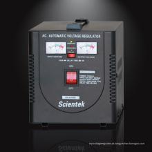 SCIENTEK Fábrica de fornecimento 1500VA 900W regulador de tensão Estabilizador elétrico doméstico