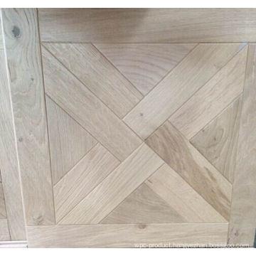 Unfinished Simple Style Oak Parquet Flooring