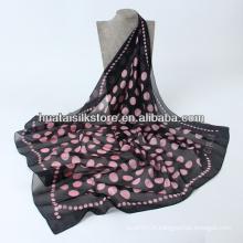 Nouvelle écharpe en soie de mode 2014 Spring Dots