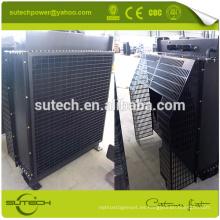 Radiador de agua de núcleo de cobre para motor de la serie Cummin 6LTAA