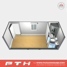 Modular 20 Feet Container House for Dormitory, Single Department