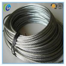 """7X19 3/16 """"cuerda de alambre de acero"""