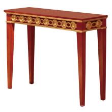 Mesa de chá de mesa de madeira