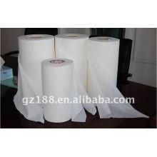 Spunlace non-tissé de maille, tissu non-tissé pour des lingettes humides