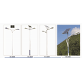Energy saving solar led street light
