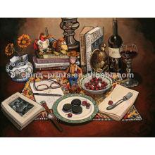 Delicious Foods Galeria de arte de pintura a óleo