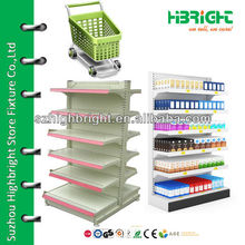 Bottle Bay End Cap Pharmacy Shelf