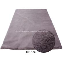 Alfombra de alfombra de piel sintética