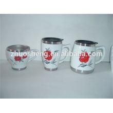 Новый стиль продукта оптом купить из Китая пользовательских керамическая кружка кофе, сублимации кружка