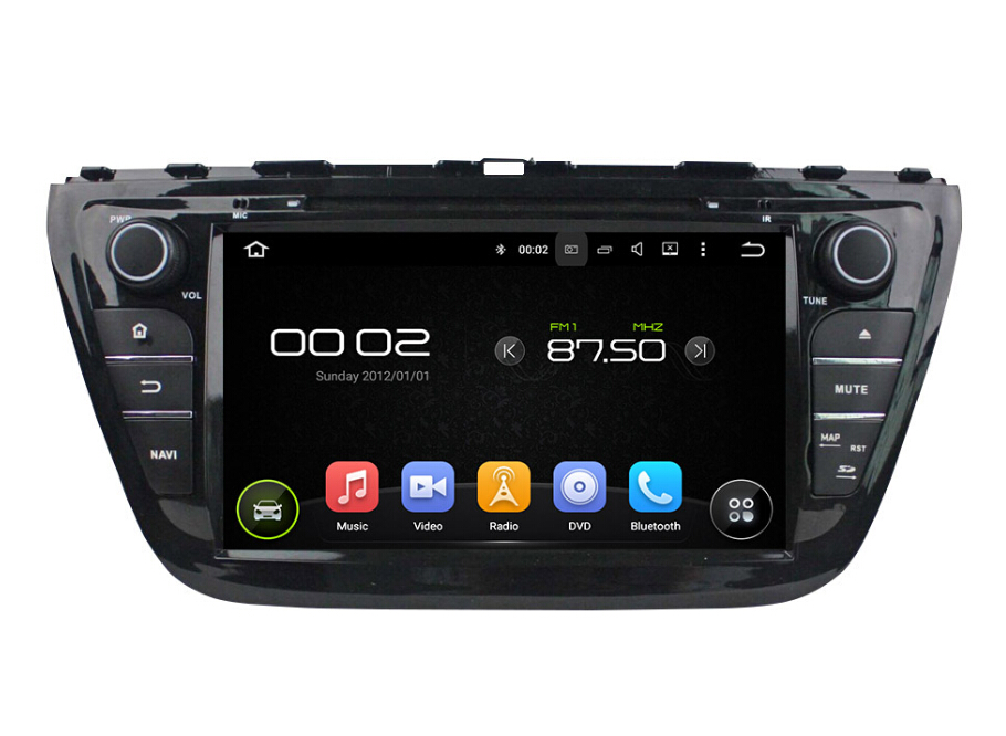 8 inch android car dvd player for Suzuki SX4