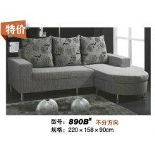 Большие продажи небольшие размеры современных ткань диван (890B)
