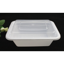 Récipient jetable en plastique d'emballage alimentaire de vente chaude de micro-onde